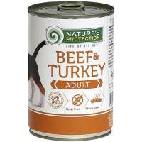 Nature's Protection Adult Beef & Turkey, 400 г