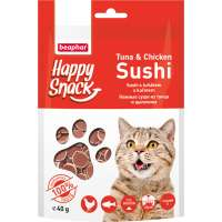 Beaphar Happy Snack Tuna Chicken Sushi, 40 г