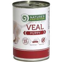 Nature's Protection Puppy Veal, 400 г