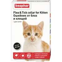 Beaphar Flea & Tick Collar Kitten, 35 см