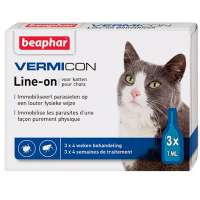 Beaphar Immo Shield Line-on Cat, 3 пип