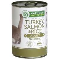 Neutered Turkey Salmon & Rice