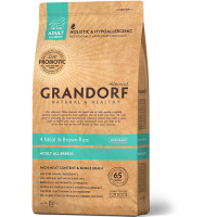 Grandorf 4Meat & Brown Rice Adult All Breeds, 1 кг