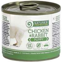 Nature's Protection Puppy Chicken & Rabbit, 200 г
