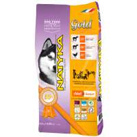 Natyka Gold Adult & Senior Lamb & Rice, 4,5 кг