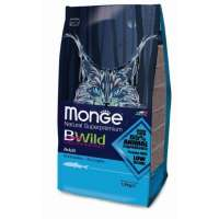 Monge BWild Cat Anchovies, 1,5 кг