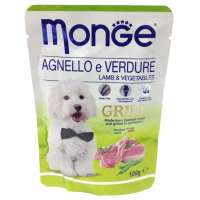 Monge Dog Grill Pouch Lamb, 100 г
