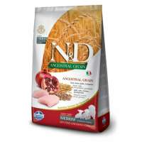 N&d Ancestral Grain Dog, Chicken & Spelt & Oats & Pomegranate Puppy Medium & Maxi