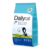 Dailycat ADULT EXI Care Fish & Rice 400 г
