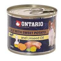 Ontario Mini Calf, Sweetppotato, Dandelion&linseed oil, 200 г