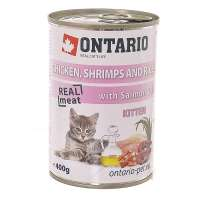 Kitten Chicken, Schrimps, Rice, Salmon Oil