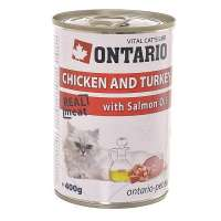 Chicken, Turkey, Salmon Oil