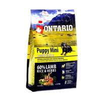 Ontario Puppy Mini Lamb&Rice, 6,5 кг