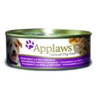 Applaws Dog Chicken, Ham&Veg, 156 г