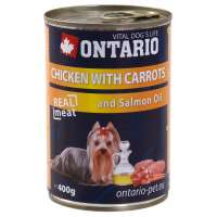 Chicken, Carrots, Salmon Oil