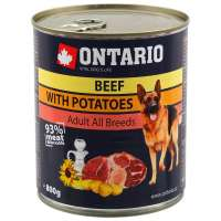 Ontario Beef, Potatos, Sunflower Oil, 800 г