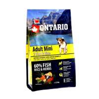 Ontario Adult Mini 7 Fish&Rice, 2,25 кг