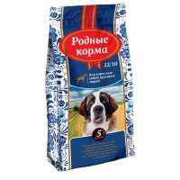 Родные корма Adult Chicken for Large Breeds, 16,38 кг
