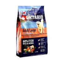 Ontario Adult Large 7 Fish&Rice, 2,25 кг