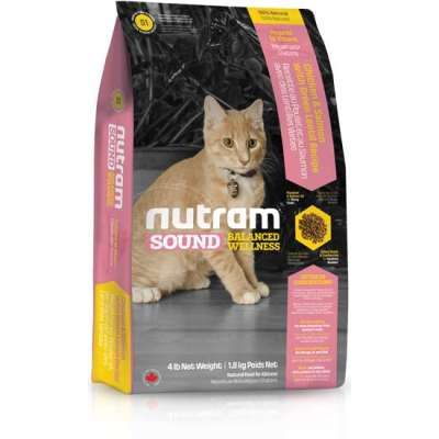 Сухой корм для котят Nutram CAT S1 Sound Balanced Wellness Kitten Food 1,13 кг